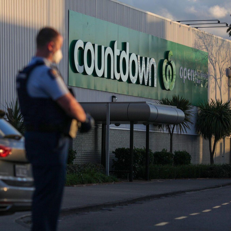 Terrorist in Auckland NZ Stabs Six People